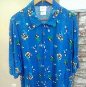 Disney  original Mickey Mouse men's shirt